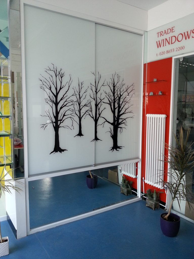 Etched Glass In South London Osborn Glass
