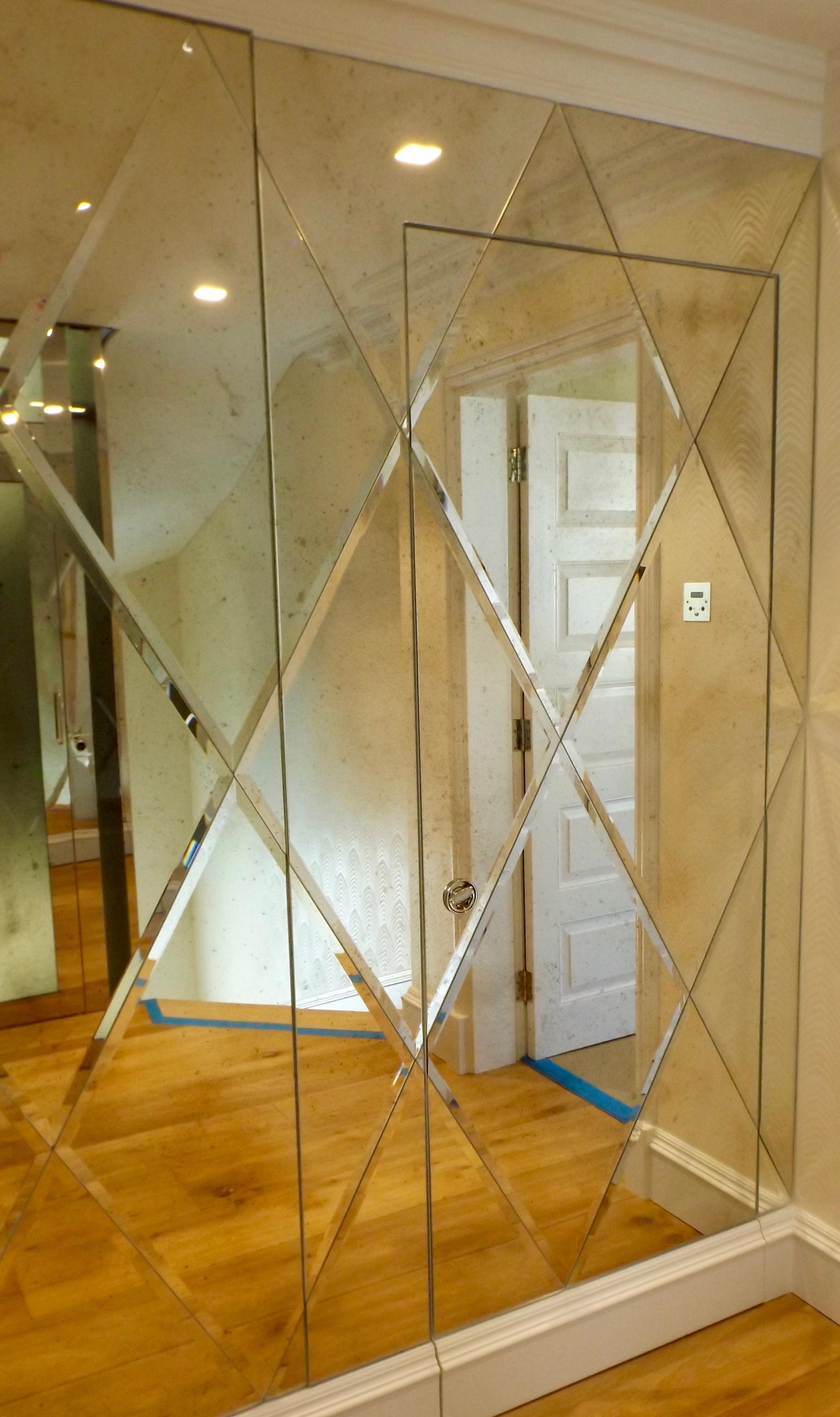 Bevelled Mirror - South London Glass, Osborn Glass