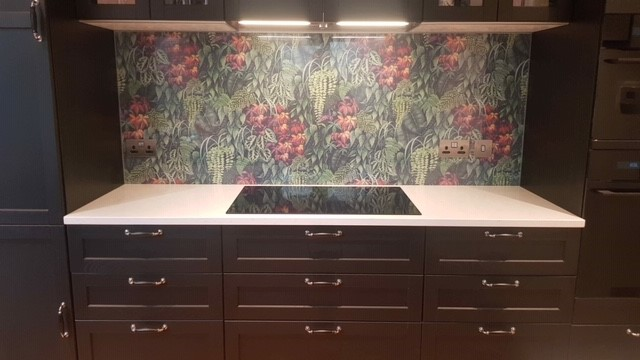 Printed Glass Splashback - Osborn Glass