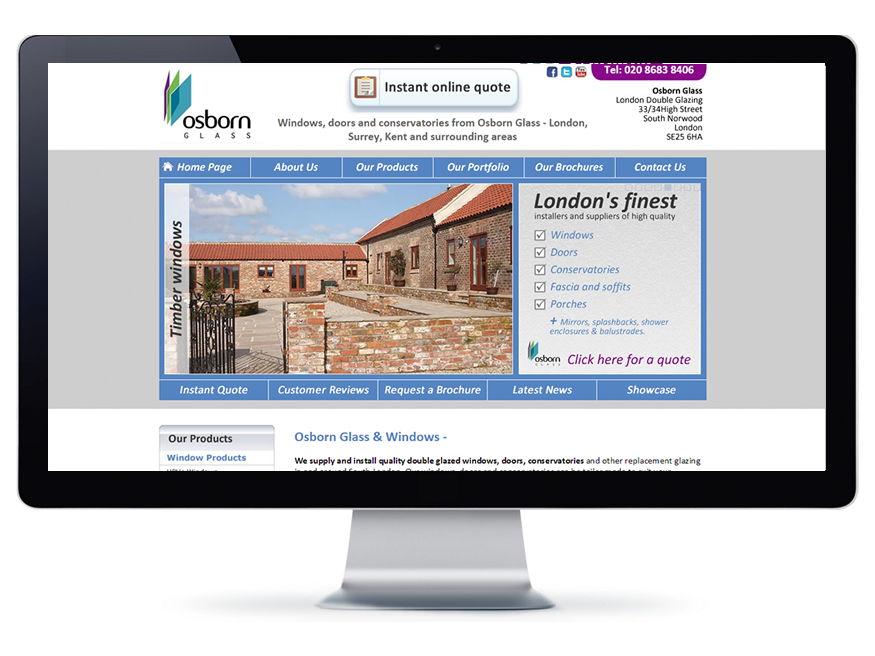 Visit our Website for windows, doors and conservatories - Click above