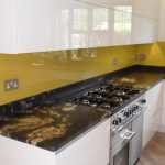 Painted Glass Splashback - London Glass